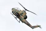 バーダーさんが、札幌飛行場で撮影した陸上自衛隊 AH-1Sの航空フォト(写真)
