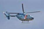 B747‐400さんが、茨城空港で撮影した茨城県警察 BK117C-1の航空フォト(写真)