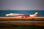 ふくそうじさんが、北九州空港で撮影したコリアエクスプレスエア ERJ-145ERの航空フォト(写真)