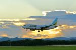 guttyさんが、中標津空港で撮影したAIR DO 737-781の航空フォト(写真)