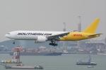 HEATHROWさんが、香港国際空港で撮影したサザン・エア 777-FZBの航空フォト(写真)