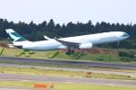 zero1さんが、成田国際空港で撮影したキャセイパシフィック航空 A330-343Xの航空フォト(写真)