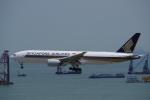 JA8037さんが、香港国際空港で撮影したシンガポール航空 777-212/ERの航空フォト(写真)