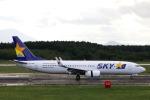 funi9280さんが、新千歳空港で撮影したスカイマーク 737-8HXの航空フォト(写真)