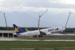 funi9280さんが、新千歳空港で撮影したスカイマーク 737-86Nの航空フォト(写真)