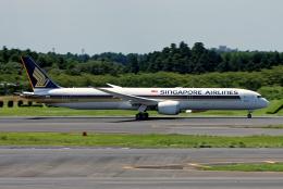 コージーさんが、成田国際空港で撮影したシンガポール航空 787-10の航空フォト(写真)