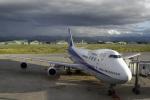 senyoさんが、小松空港で撮影した全日空 747SR-81の航空フォト(写真)