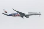 青春の1ページさんが、成田国際空港で撮影したマレーシア航空 A350-941XWBの航空フォト(写真)