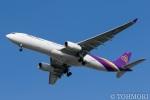 遠森一郎さんが、福岡空港で撮影したタイ国際航空 A330-343Xの航空フォト(写真)