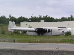 hachiさんが、テッドスティーブンズ・アンカレッジ国際空港で撮影したBrooks Fuel C-119G Flying Boxcarの航空フォト(飛行機 写真・画像)