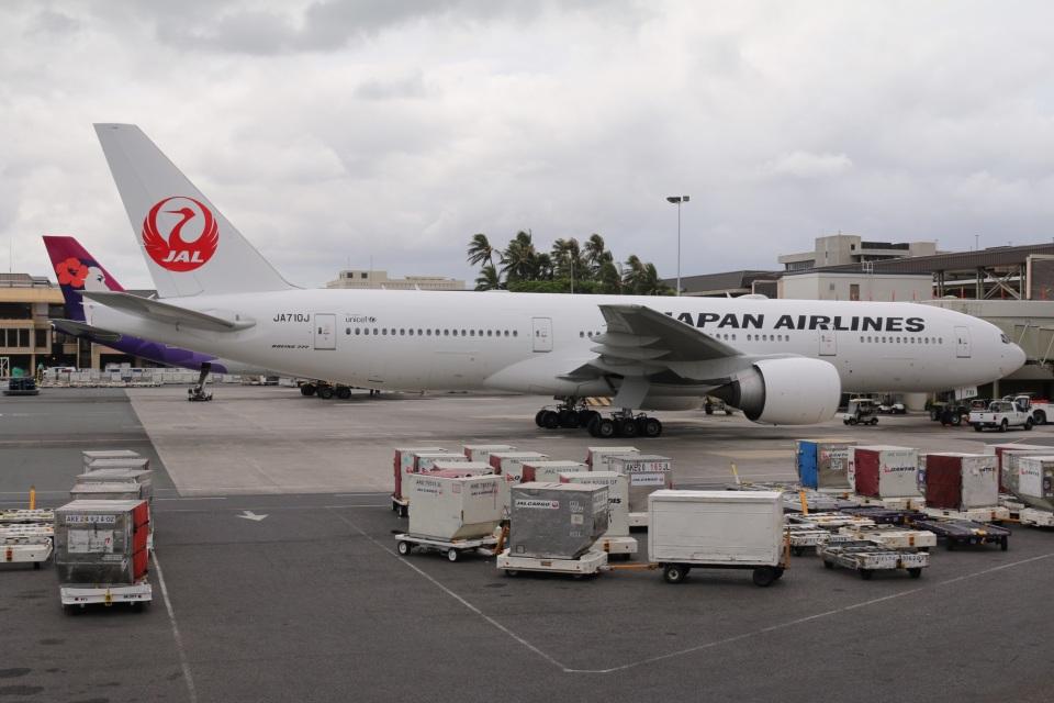 DREAMWINGさんの日本航空 Boeing 777-200 (JA710J) 航空フォト