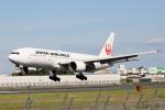 徳兵衛さんが、伊丹空港で撮影した日本航空 777-246の航空フォト(写真)
