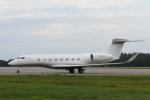 ATOMさんが、帯広空港で撮影したユタ銀行 G650 (G-VI)の航空フォト(飛行機 写真・画像)