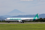 VEZEL 1500Xさんが、静岡空港で撮影したエアソウル A321-231の航空フォト(写真)