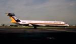 ハミングバードさんが、名古屋飛行場で撮影した日本エアシステム MD-87 (DC-9-87)の航空フォト(写真)