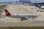 やまさんが、関西国際空港で撮影した天津航空 A320-232の航空フォト(写真)