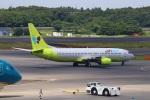 zero1さんが、成田国際空港で撮影したジンエアー 737-86Nの航空フォト(写真)