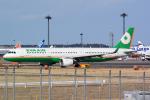 panchiさんが、成田国際空港で撮影したエバー航空 A321-211の航空フォト(飛行機 写真・画像)