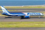 pinama9873さんが、中部国際空港で撮影したナショナル・エアラインズ 757-28Aの航空フォト(写真)