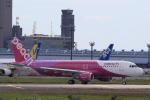 多楽さんが、成田国際空港で撮影したピーチ A320-214の航空フォト(写真)