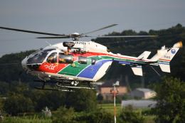 kumagorouさんが、つくばヘリポートで撮影した茨城県防災航空隊 BK117C-2の航空フォト(飛行機 写真・画像)