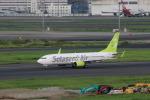 funi9280さんが、羽田空港で撮影したソラシド エア 737-86Nの航空フォト(飛行機 写真・画像)