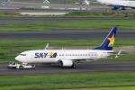 funi9280さんが、羽田空港で撮影したスカイマーク 737-8ALの航空フォト(飛行機 写真・画像)