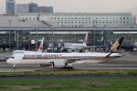 funi9280さんが、羽田空港で撮影したシンガポール航空 A350-941XWBの航空フォト(飛行機 写真・画像)