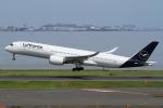 ウッディーさんが、羽田空港で撮影したルフトハンザドイツ航空 A350-941XWBの航空フォト(写真)