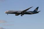 さんみさんが、ロンドン・ヒースロー空港で撮影したオマーン航空 787-9の航空フォト(写真)