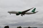 さんみさんが、ロンドン・ヒースロー空港で撮影したトルクメニスタン航空 777-22K/LRの航空フォト(写真)