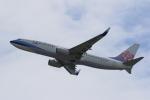 みるぽんたさんが、関西国際空港で撮影したチャイナエアライン 737-8ALの航空フォト(写真)