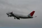 hachiさんが、テッドスティーブンズ・アンカレッジ国際空港で撮影した日本航空 747-446F/SCDの航空フォト(写真)