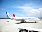 pjetさんが、那覇空港で撮影したギャラクシーエアラインズ A300の航空フォト(写真)