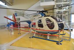 md11jbirdさんが、名古屋飛行場で撮影した中日新聞社 Hughes 369HSの航空フォト(飛行機 写真・画像)