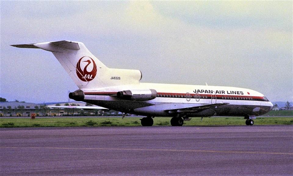ハミングバードさんの日本航空 Boeing 727-100 (JA8326) 航空フォト