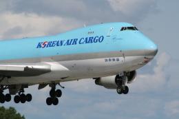 hachiさんが、テッドスティーブンズ・アンカレッジ国際空港で撮影した大韓航空 747-4B5F/SCDの航空フォト(飛行機 写真・画像)