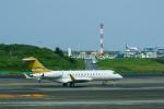 パンダさんが、羽田空港で撮影したAVNエア BD-700-1A10 Global Expressの航空フォト(写真)