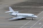 たまさんが、羽田空港で撮影したKMS AIR LLC Falcon 900の航空フォト(写真)