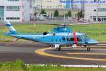 いおりさんが、東京ヘリポートで撮影した警視庁 A109E Powerの航空フォト(写真)