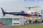 いおりさんが、東京ヘリポートで撮影したノエビア AS350B3 Ecureuilの航空フォト(写真)