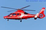 いおりさんが、福岡空港で撮影した福岡市消防局消防航空隊 AS365N3 Dauphin 2の航空フォト(写真)