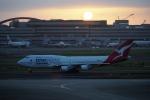 飛行機ゆうちゃんさんが、羽田空港で撮影したカンタス航空 747-438/ERの航空フォト(写真)