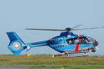 katsuura.Dさんが、徳島空港で撮影した徳島県警察 EC135T2+の航空フォト(写真)