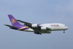 meron panさんが、成田国際空港で撮影したタイ国際航空 A380-841の航空フォト(写真)