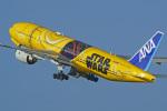 tkosadaさんが、羽田空港で撮影した全日空 777-281/ERの航空フォト(写真)
