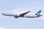 Jyunpei Ohyamaさんが、香港国際空港で撮影したキャセイパシフィック航空 777-367の航空フォト(飛行機 写真・画像)