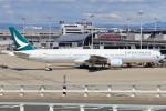 やさい弁当さんが、関西国際空港で撮影したキャセイパシフィック航空 777-367の航空フォト(写真)