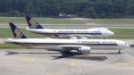 誘喜さんが、シンガポール・チャンギ国際空港で撮影したシンガポール航空 777-312/ERの航空フォト(写真)