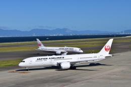 金魚さんが、中部国際空港で撮影した日本航空 787-9の航空フォト(写真)